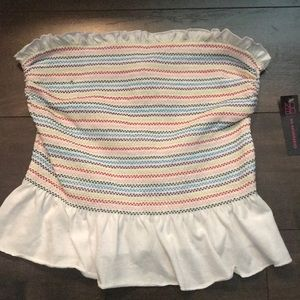 NWT No Boundries Strapless Top